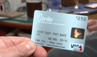 "A ""Plain vanilla"" credit card"